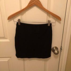 American Apparel Skirts - Medium Black Mini Skirt from American Apparel